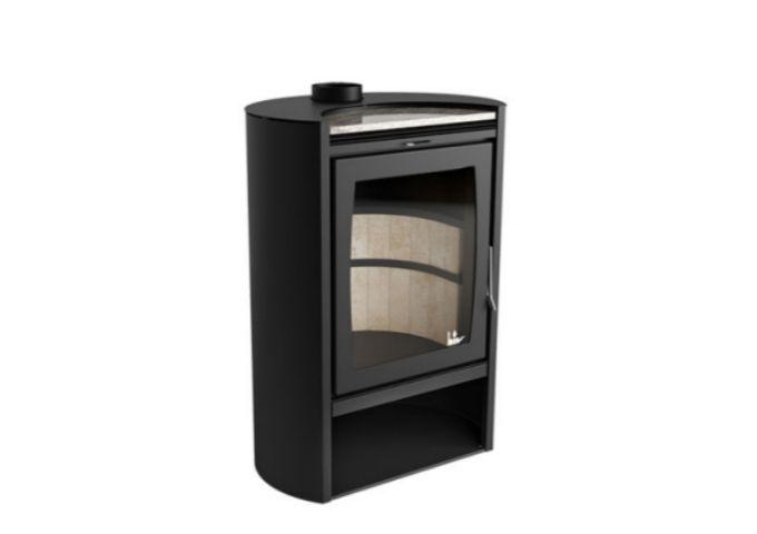 Calefator LIV590 de Dupla Combustão Elíptico  - Decorgrill - A certeza do melhor para o seu espaço gourmet!