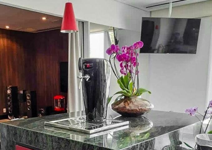 Chopeira Smart Black Ceramic  - Decorgrill - A certeza do melhor para o seu espaço gourmet!