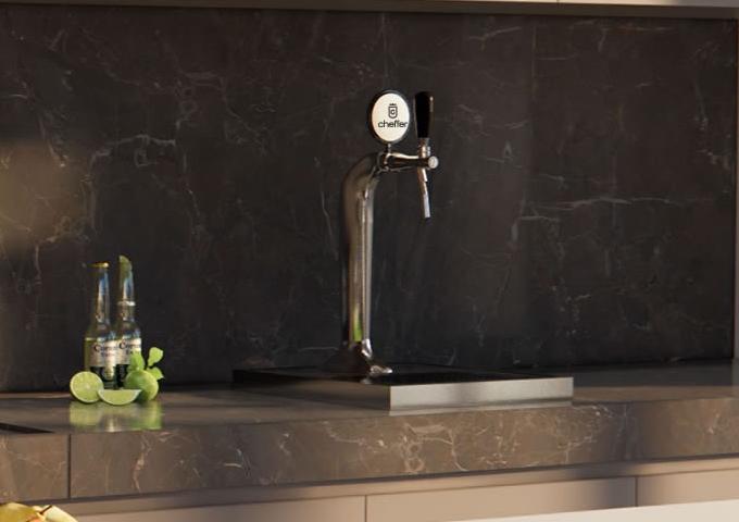 Chopeira Smart Jana Silver  - Decorgrill - A certeza do melhor para o seu espaço gourmet!
