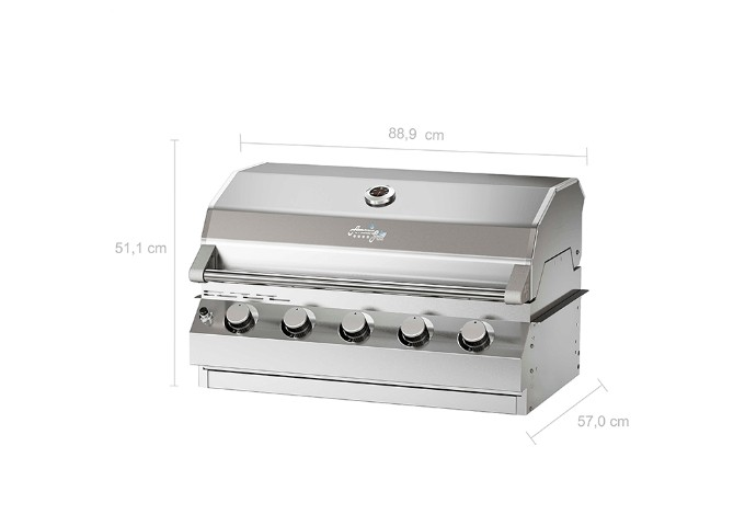 Churrasqueira a Gás Amazingrill E5  - Decorgrill - A certeza do melhor para o seu espaço gourmet!