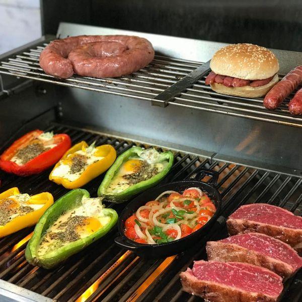Churrasqueira a Gás Amazzingrill E3  - Decorgrill - A certeza do melhor para seu espaço gourmet!