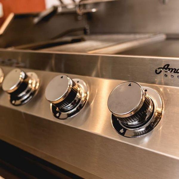 Churrasqueira a Gás AmazinGrill E3 em Inox 304  - Decorgrill - A certeza do melhor para o seu espaço gourmet!