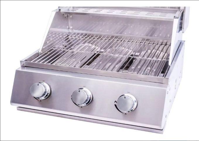 Churrasqueira a Gás Conceptgrill em Inox 304 com 3 queimadores  - Decorgrill - A certeza do melhor para o seu espaço gourmet!