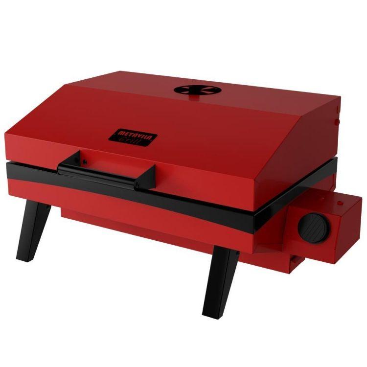 Churrasqueira a Gás Portátil Vermelha GS500EV Metavila