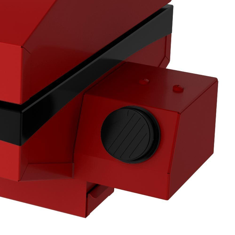 Churrasqueira a Gás Portátil Vermelha GS500EV Metavila  - Decorgrill - A certeza do melhor para o seu espaço gourmet!