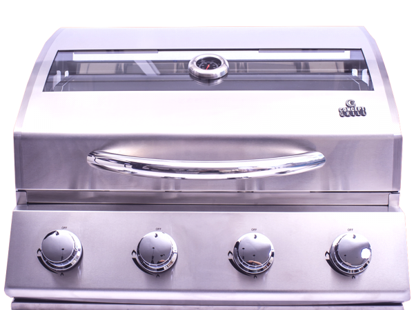 Churrasqueira Conceptgrill a Gás com 4 Queimadores em Inox 304  - Decorgrill - A certeza do melhor para seu espaço gourmet!