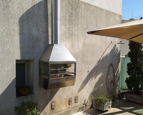 Churrasqueira de Parede em Inox 304 Decorgrill  - Decorgrill - A certeza do melhor para seu espaço gourmet!