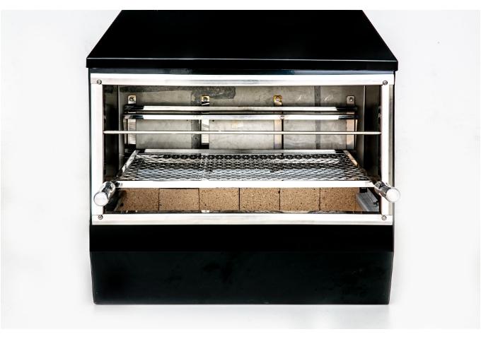 Churrasqueira de Parede Galvanizada Gourmet Preta 750GP  - Decorgrill - A certeza do melhor para o seu espaço gourmet!