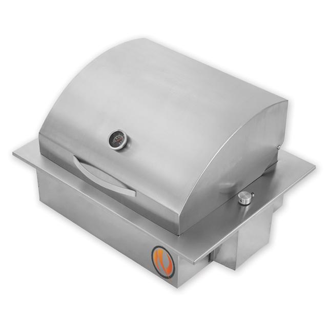 Churrasqueira Sem Fumaça Elétrica Cooktop em Inox 304 com SteakGrill