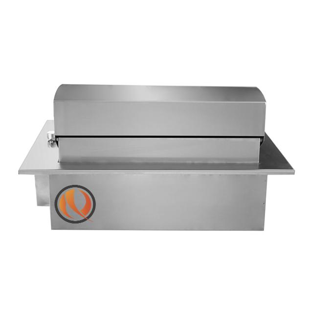 Churrasqueira Sem Fumaça Elétrica Cooktop em Inox com Tampa SteakGrill  - Decorgrill - A certeza do melhor para o seu espaço gourmet!
