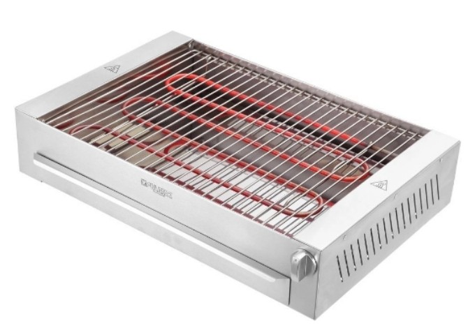Churrasqueira Elétrica sem Fumaça de Bancada  - Decorgrill - A certeza do melhor para o seu espaço gourmet!
