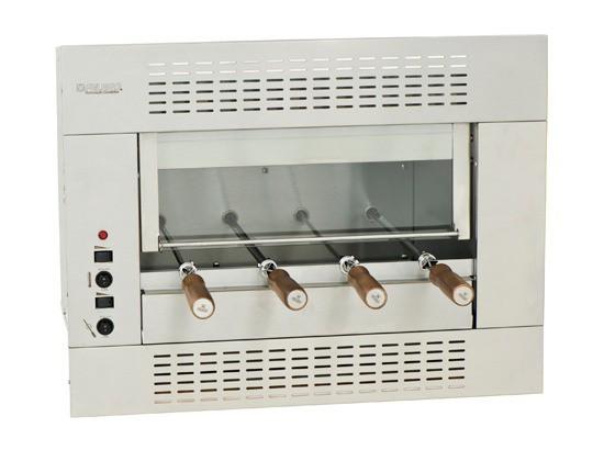 Churrasqueira Elétrica de Embutir Felesa Premium com 4 Espetos Giratórios