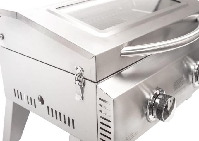 Churrasqueira Portátil Conceptgrill 2 Queimadores  - Decorgrill - A certeza do melhor para o seu espaço gourmet!