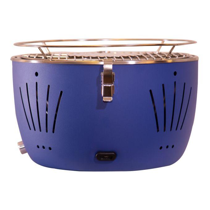 Churrasqueira Portátil Table Grill Azul  - Decorgrill - A certeza do melhor para seu espaço gourmet!