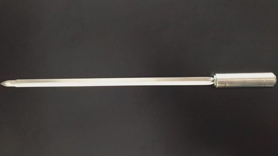 Espeto de aço inox 304 - 60cm  - Decorgrill - A certeza do melhor para seu espaço gourmet!