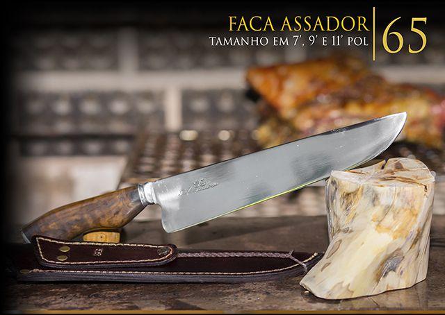 Faca Assador - 9 Pol
