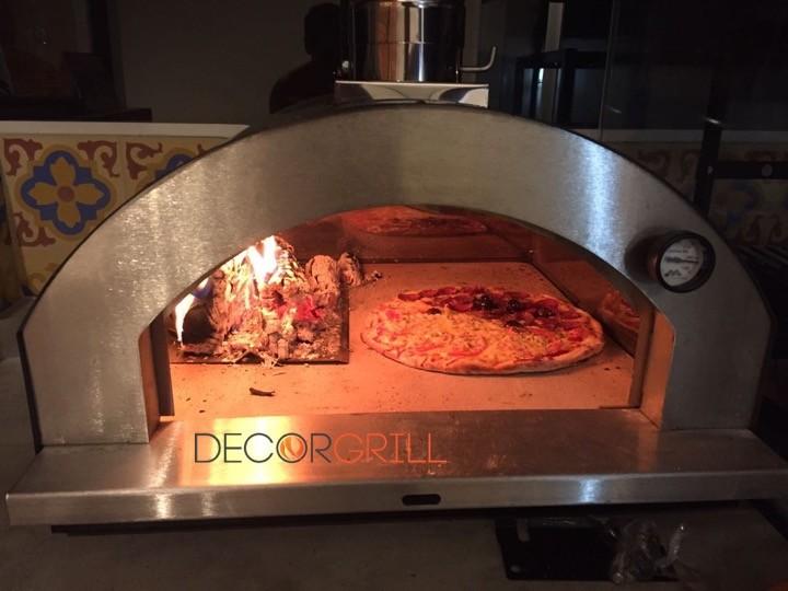 Forno de Pizza Garden Metavila 610EX  - Decorgrill - A certeza do melhor para o seu espaço gourmet!