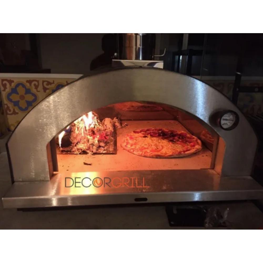 Forno de Pizza Gourmet 610IN Metavila Preto  - Decorgrill - A certeza do melhor para o seu espaço gourmet!