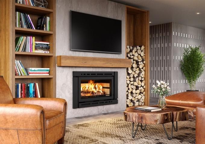 Inserto Carenado de Dupla Combustão LIV507  - Decorgrill - A certeza do melhor para o seu espaço gourmet!