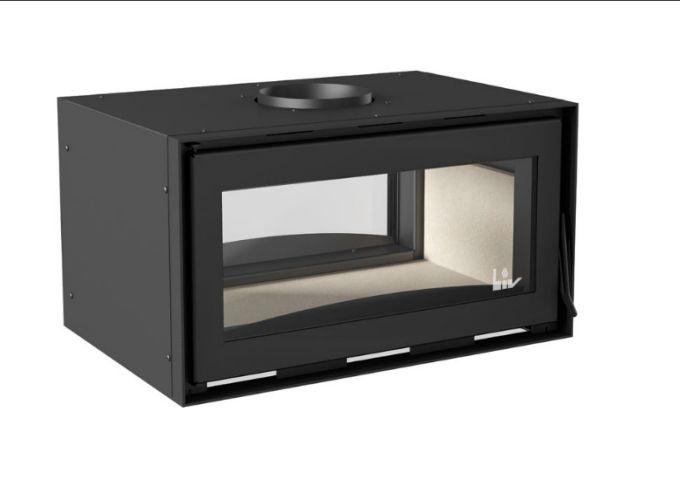 Inserto LIV409 Dupla Face com sistema de Dupla Combustão Médio  - Decorgrill - A certeza do melhor para o seu espaço gourmet!