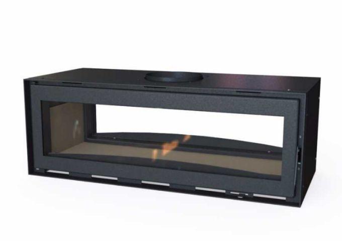 Inserto LIV504 de dupla face e Sistema de Dupla Combustão  - Decorgrill - A certeza do melhor para o seu espaço gourmet!