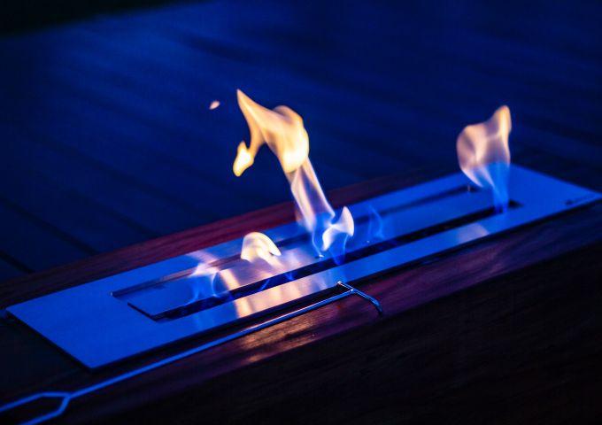 Lareira Etanol de Embutir em Inox 304  - Decorgrill - A certeza do melhor para o seu espaço gourmet!