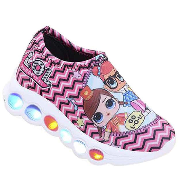 9ca04e1304f648 Tênis de led infantil Meninas LOL Surprise - loja de departamentos ...