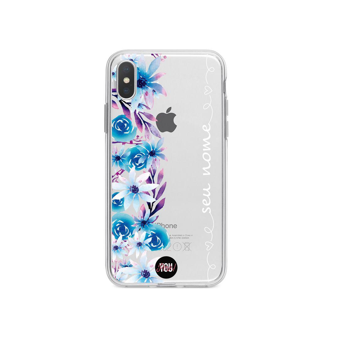 Case Blue Floral
