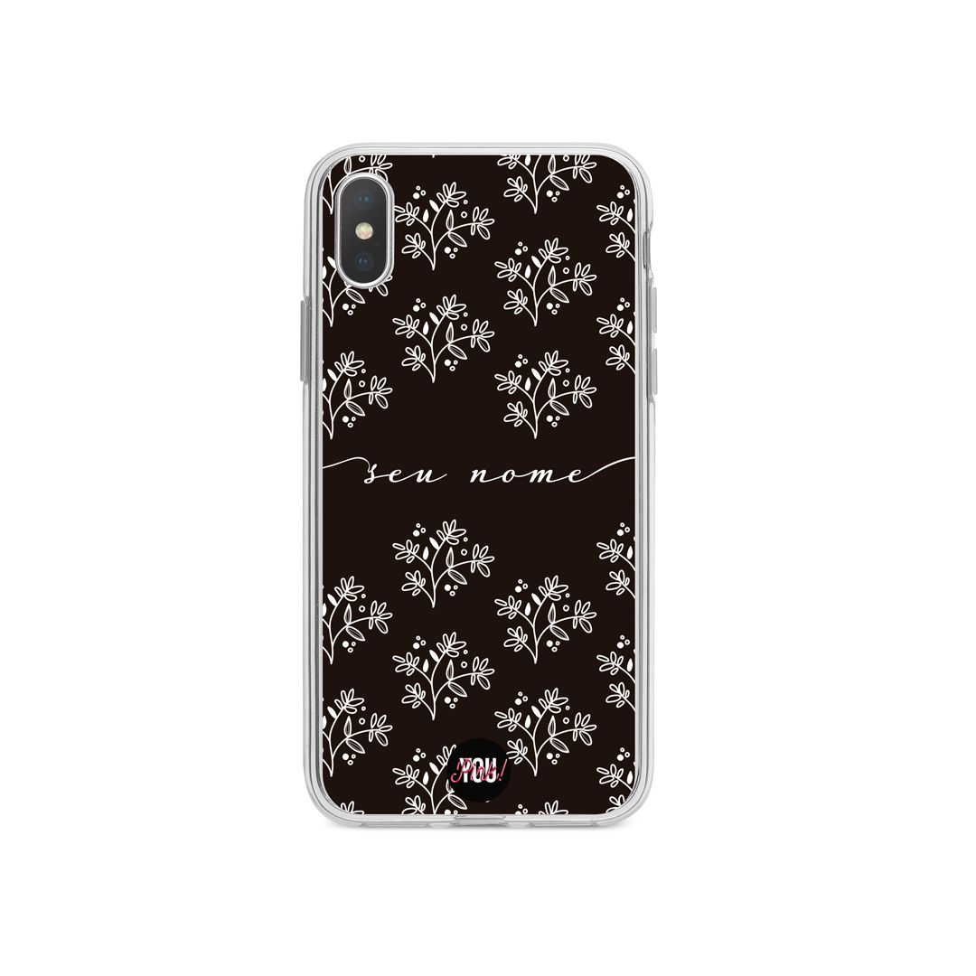 Case Flowers in Black