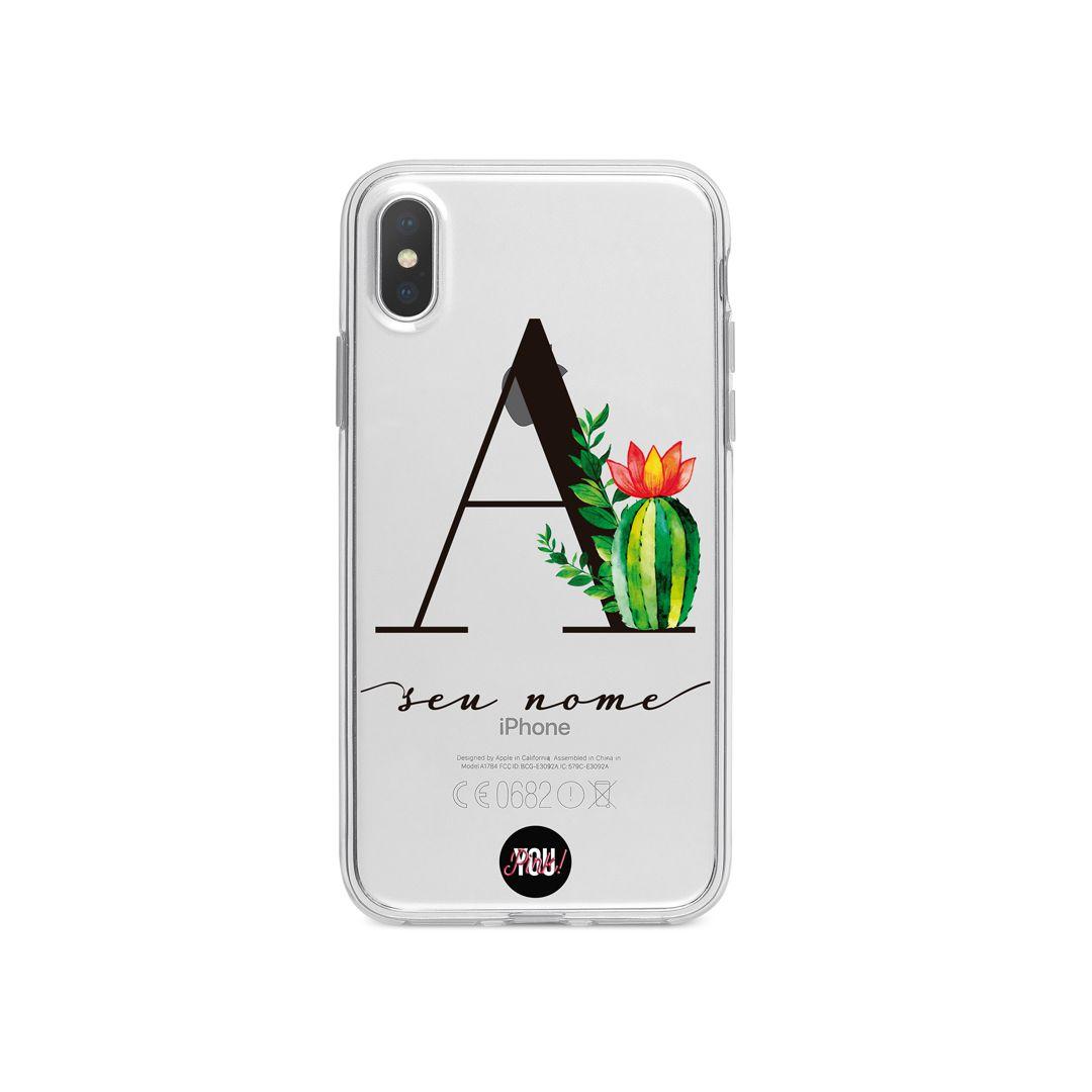 Case Monograma Cactus