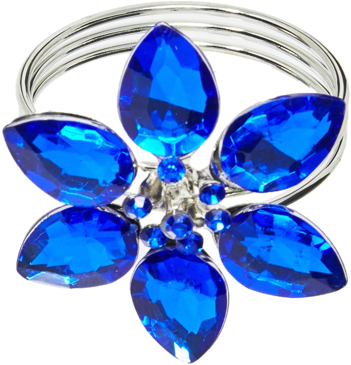 Anel Guardanapo Holanda Azul