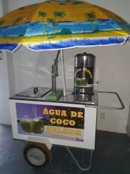 CARRINHO DE AGUA DE COCO - Mod.: C.A.C.G.1