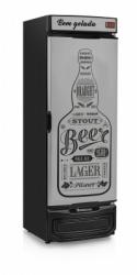 Cervejeira GRBA-450GW Porta Cega Revestida Tipo Inox Frost Free Capacidade 450 L - Mod.: GRBA-450 GW/PR