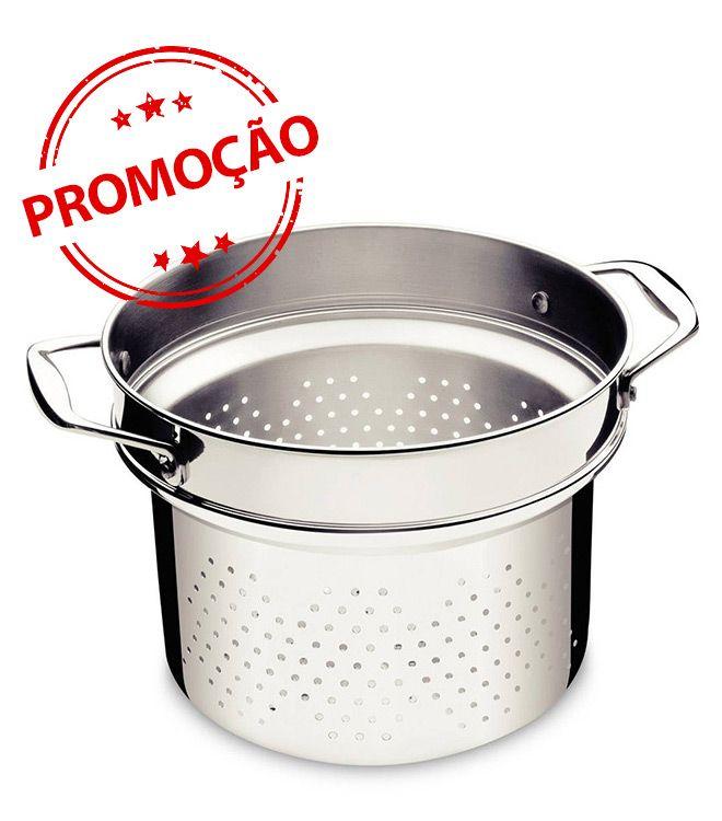 Cozi-Pasta Aço Inox Professional 8L