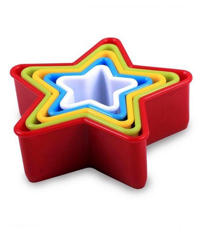 Jogo Cortador Plástico Estrela