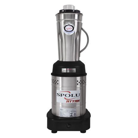Liquidificador Comercial Spolu Attak 2L Baixa Rotação