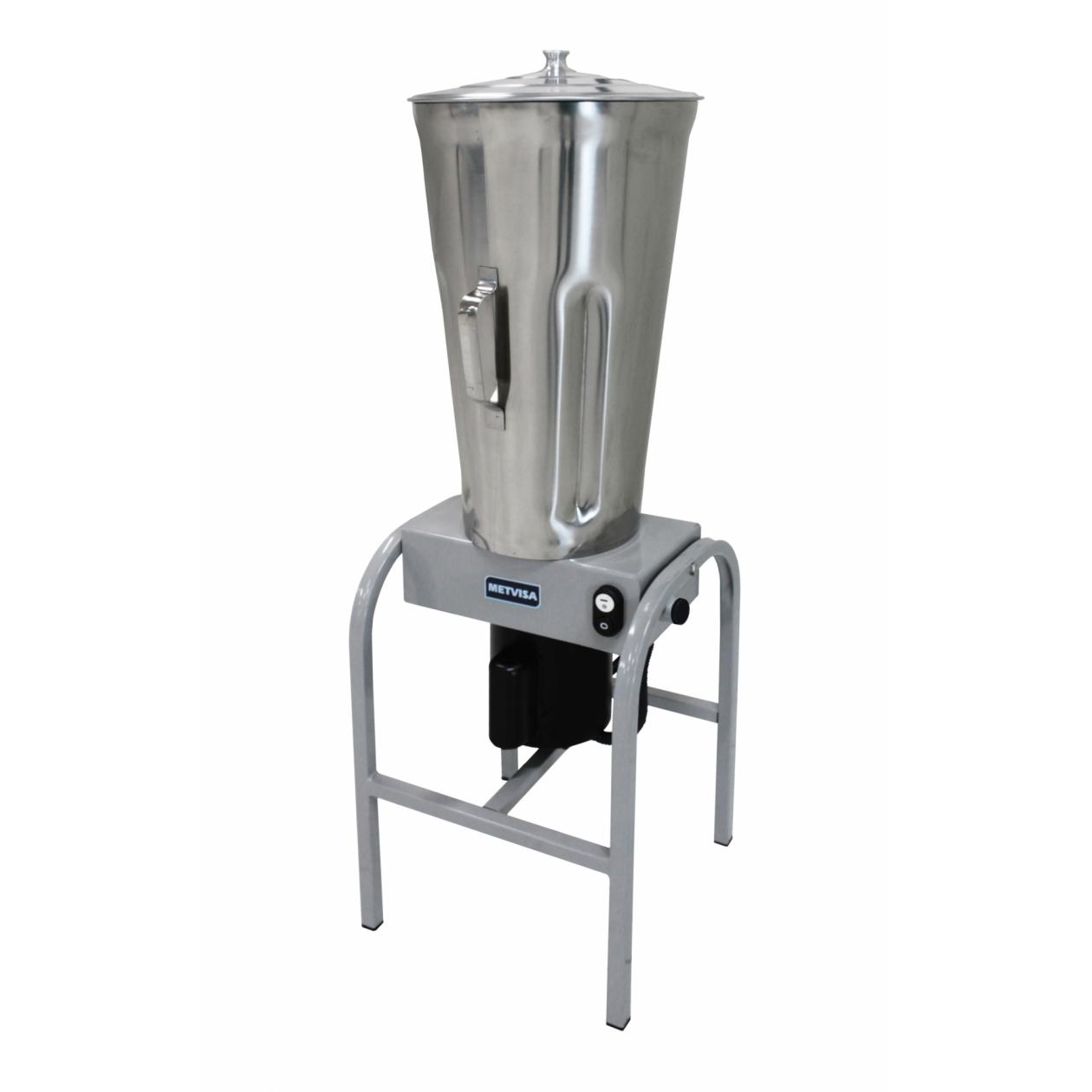 Liquidificador Industrial 25 L Baixa Rotação Inox Metvisa