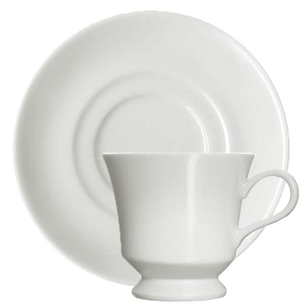 Xícara de Chá Capri com Pires
