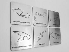 APOIO DE COPO - RACETRACKS
