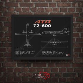 QUADRO/POSTER ATR 72-600