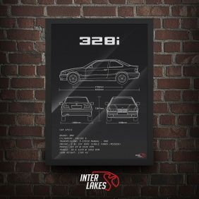 BMW 328I E36 SÉRIE 3 COUPÉ