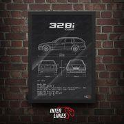 BMW 328I E36 SÉRIE 3 TOURING