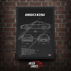 QUADRO BMW 850 CSI