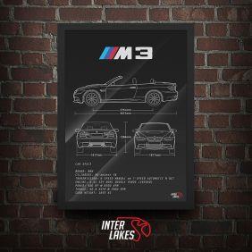 QUADRO BMW M3 CABRIOLET E93