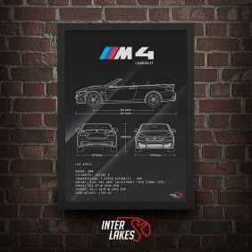 QUADRO BMW M4 CABRIOLET