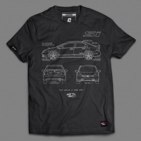 CAMISETA CIVIC SI - INTERLAKES