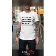 CAMISETA YES RACECAR NO MONEY - INTERLAKES