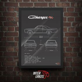 QUADRO DODGE CHARGER RT 75
