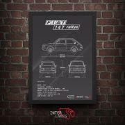 FIAT 147 RALLYE 1981