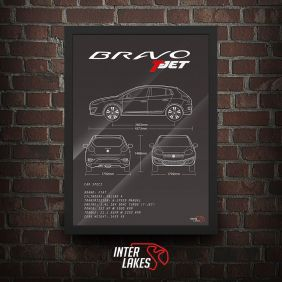 FIAT BRAVO T-JET 2016